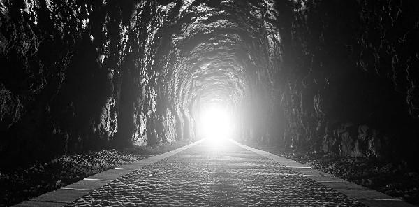Som att se i en tunnel