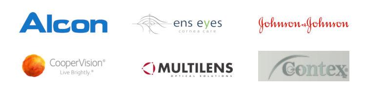 Våra leverantörer av kontaktlinser
