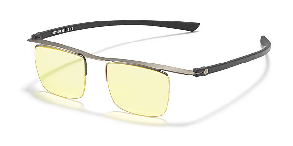 glasögon för bättre mörkerseende med gulfilter